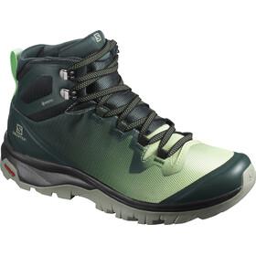 Salomon Vaya Mid GTX Chaussures Femme, green gables/spruce stone/shadow